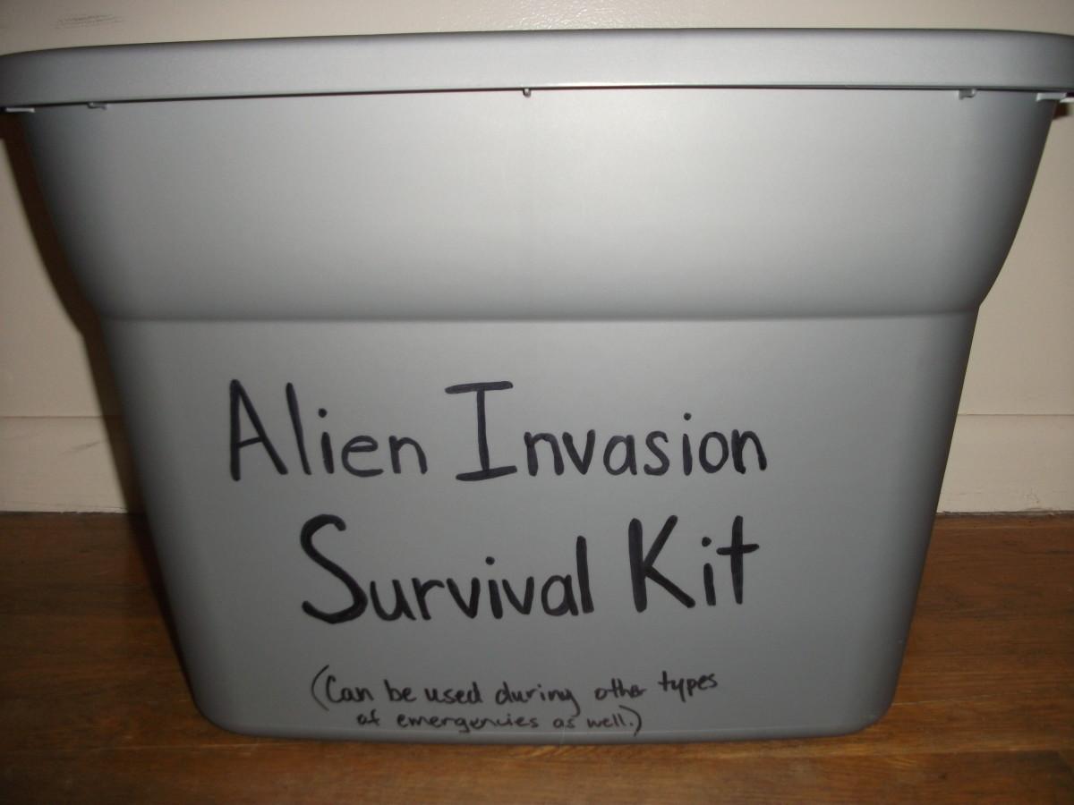 Alien Invasion Survival Kit