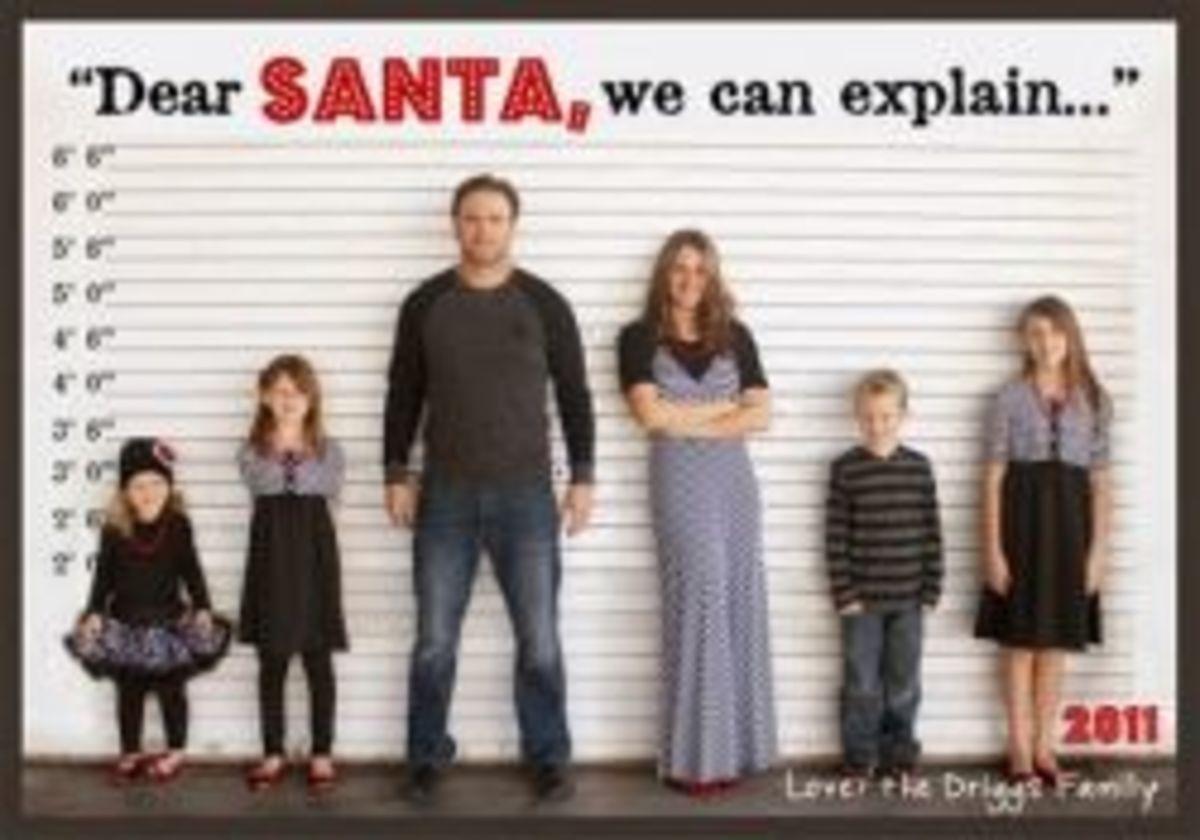 funny christmas photo ideas 1 - dear santa