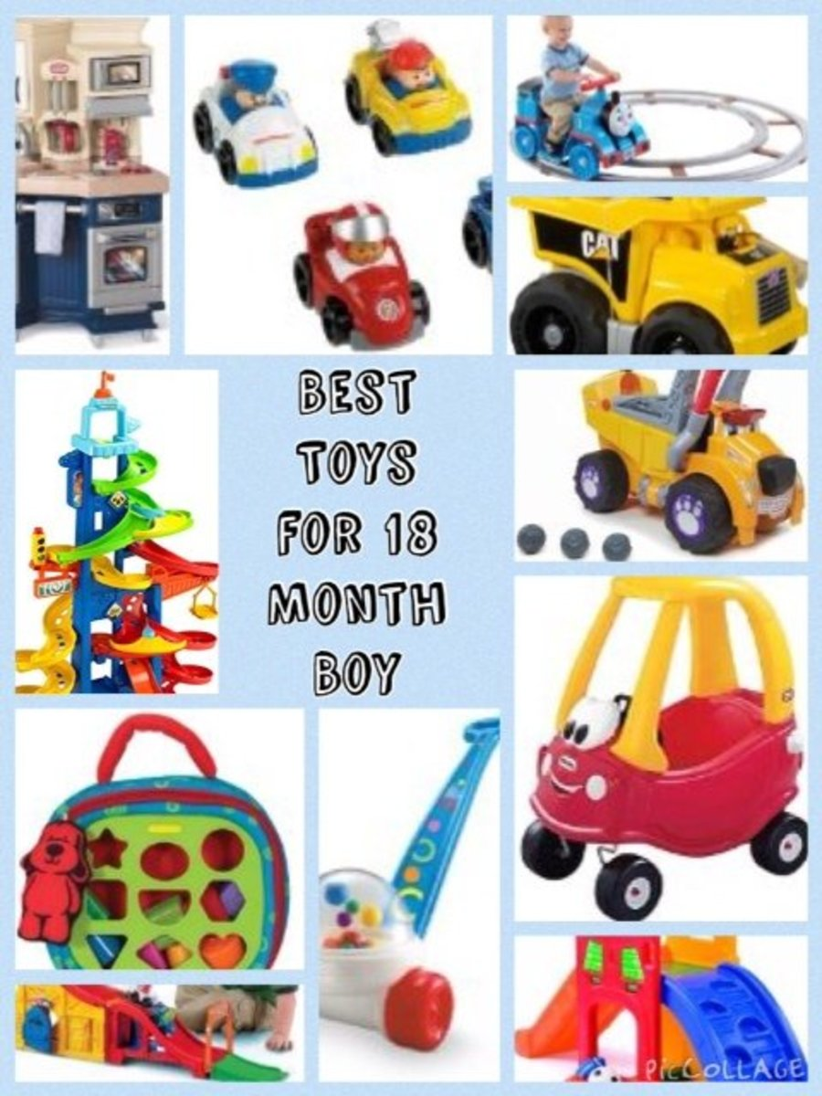 Toys For Boys 18 Months : Best toys for month old boy