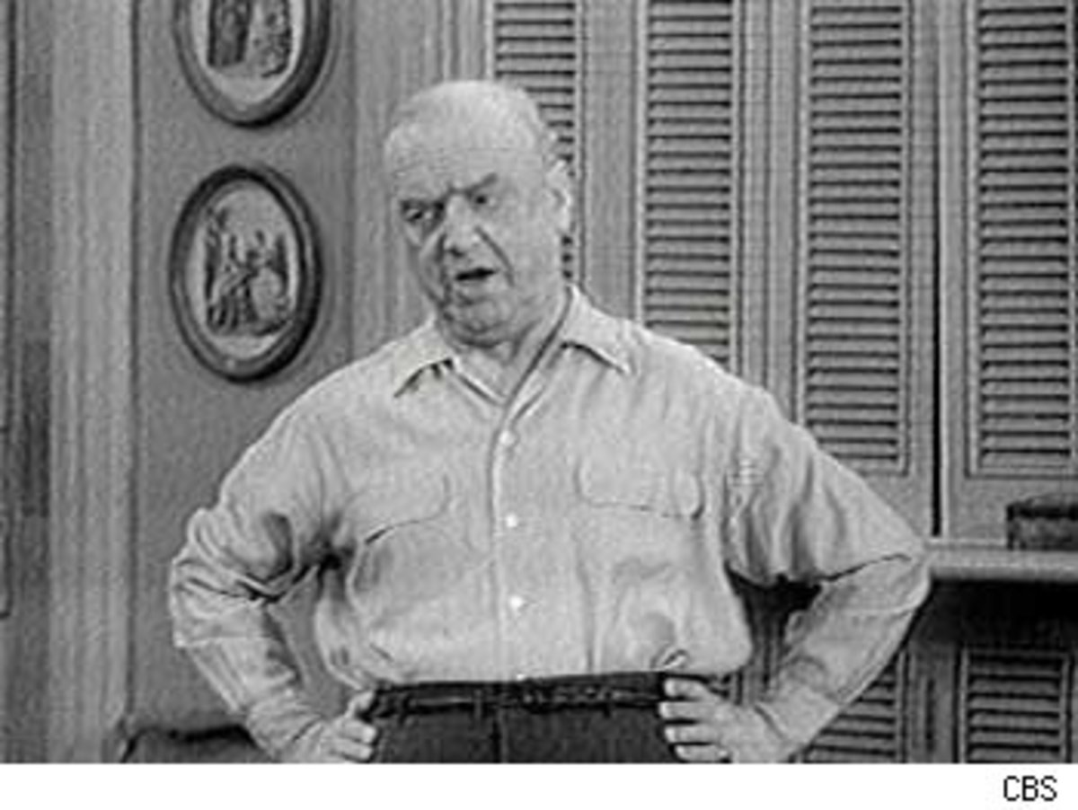 William Frawley in I Love Lucy.