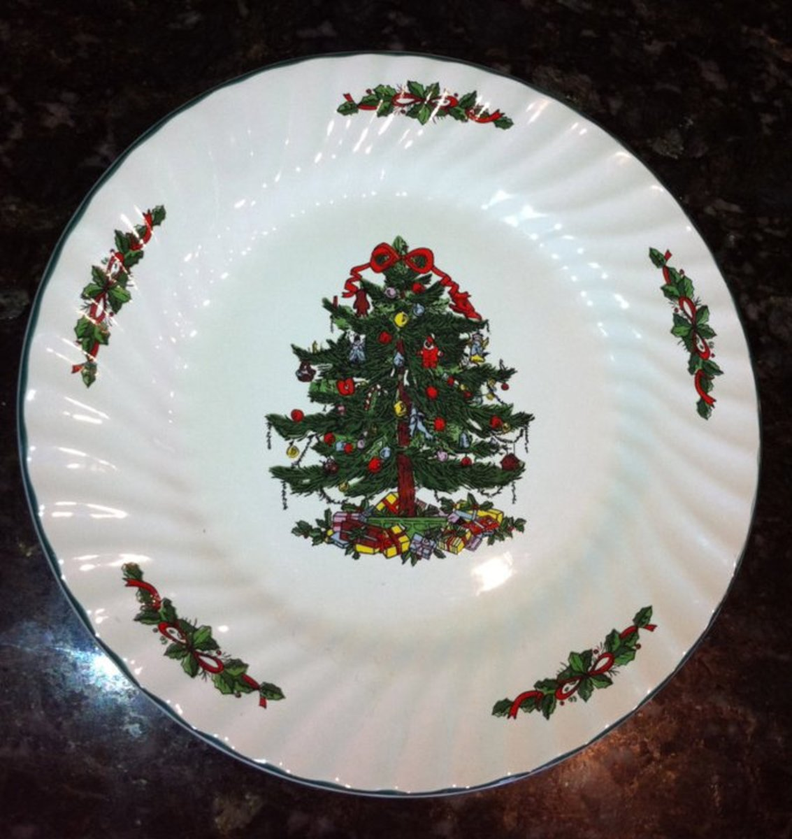 Christmas Dinner Plate Designs and Ideas
