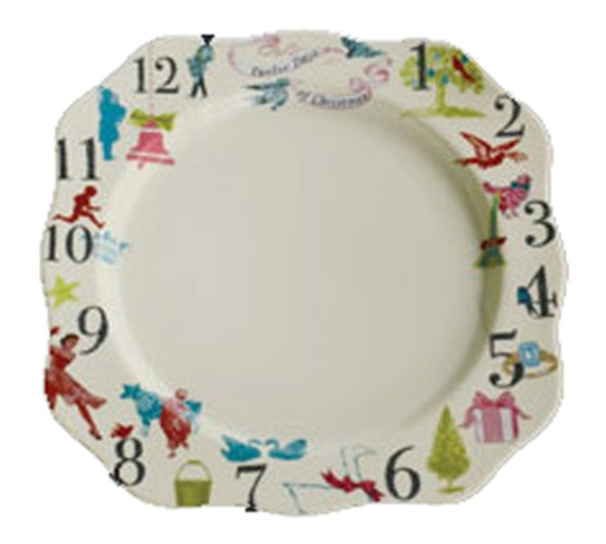 12 Days of Christmas Plate