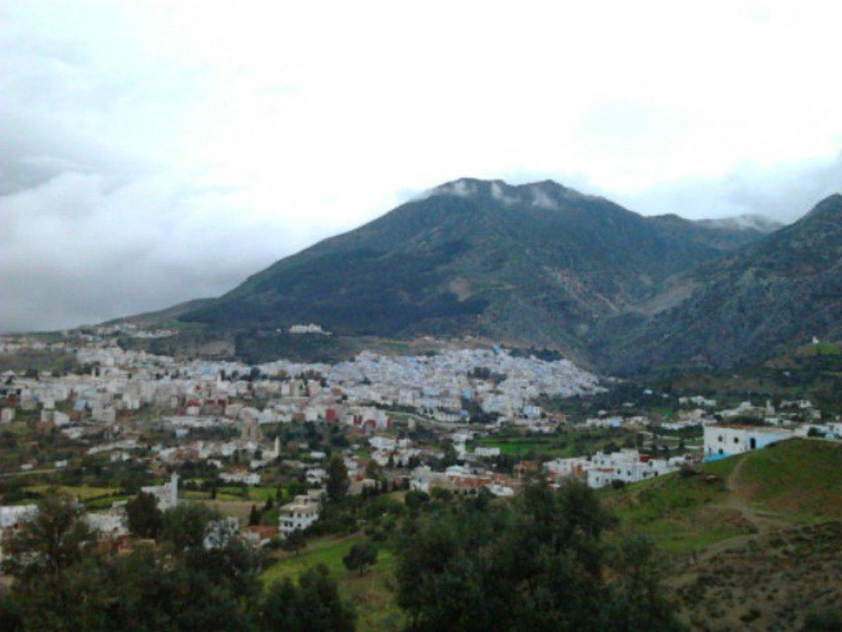 Chafchawan, North of Morocco!