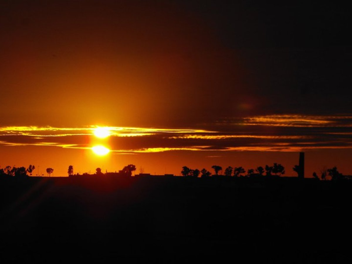 Kasba Tadla, In  the Middle of Morocco!          A beautiful sunset, Dedicated to my love, Khadija with love