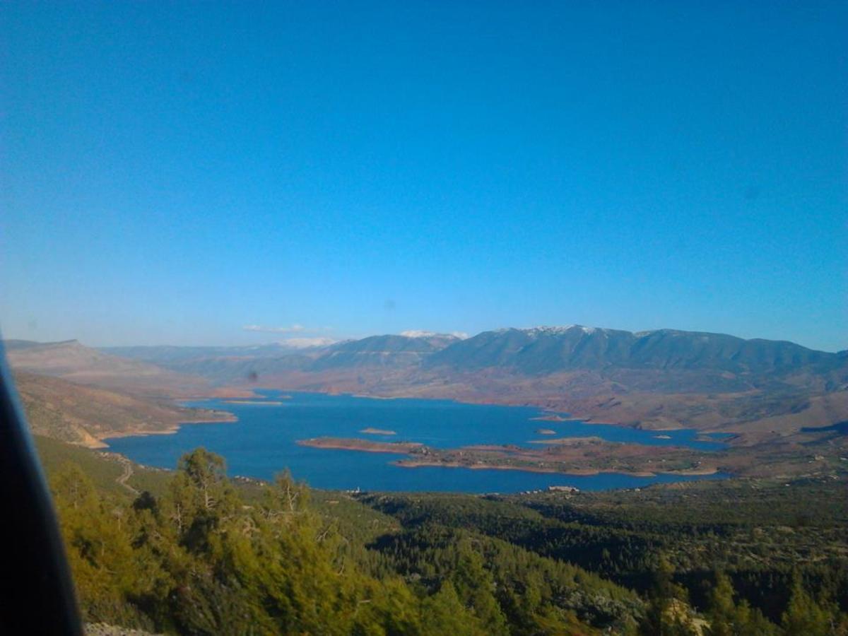 Bin Widan a lake in Azilal Morocco