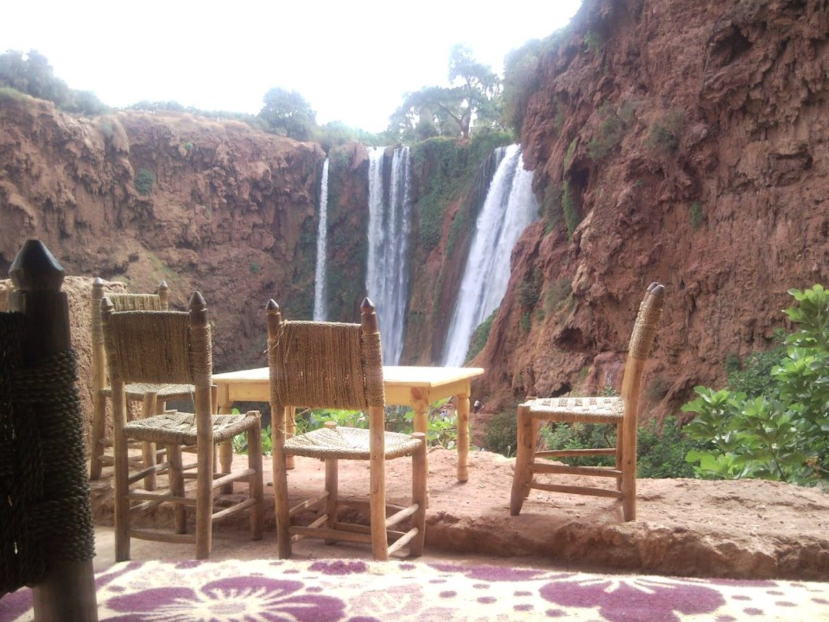 Just to show the diversity I have talked about. The waterfalls of Ouzoud in the High Atlas