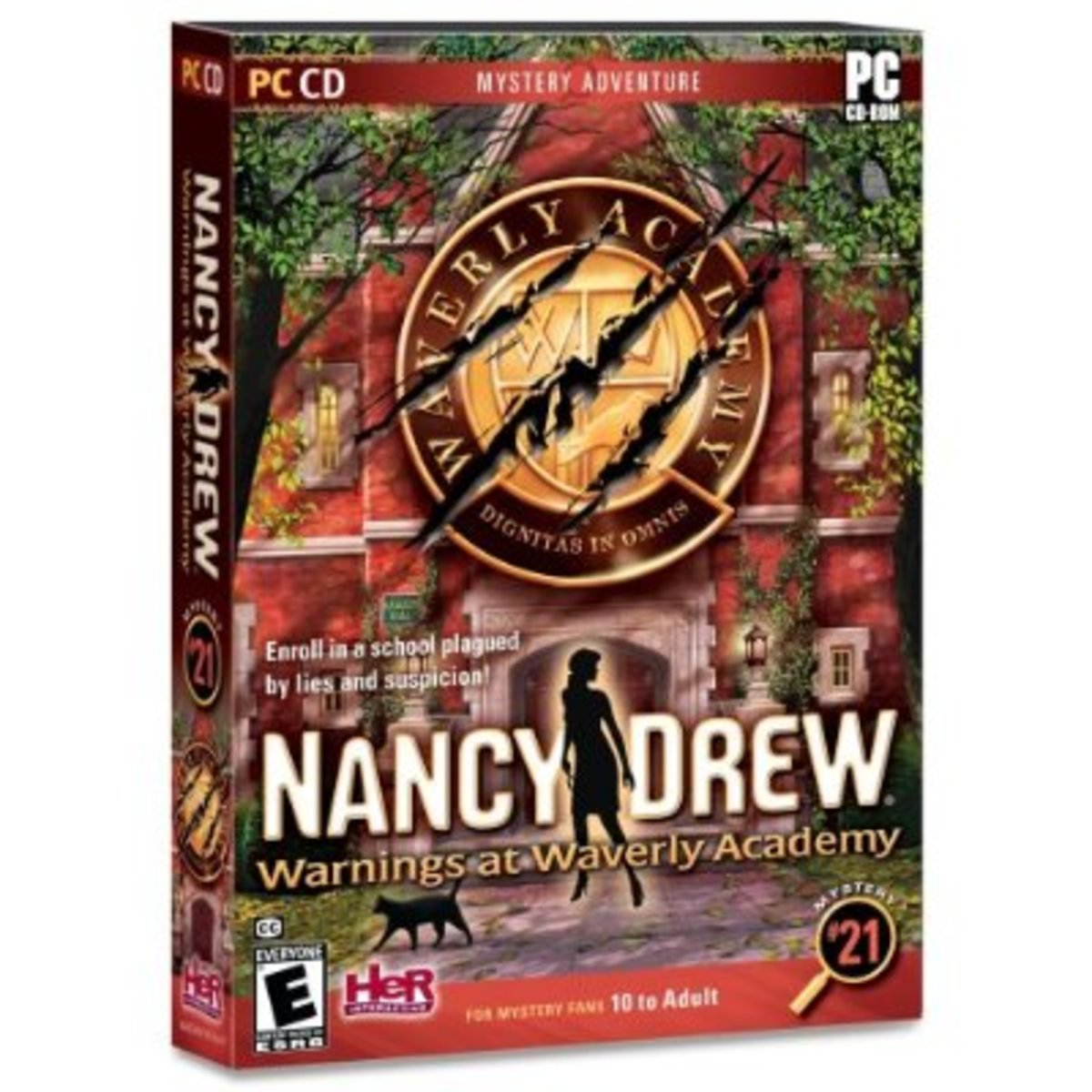 Nancy Drew: Warnings at Waverly Academy game cover