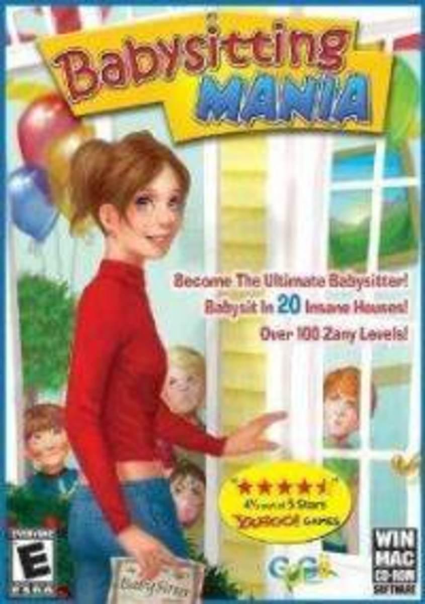 Babysitting Mania game cover