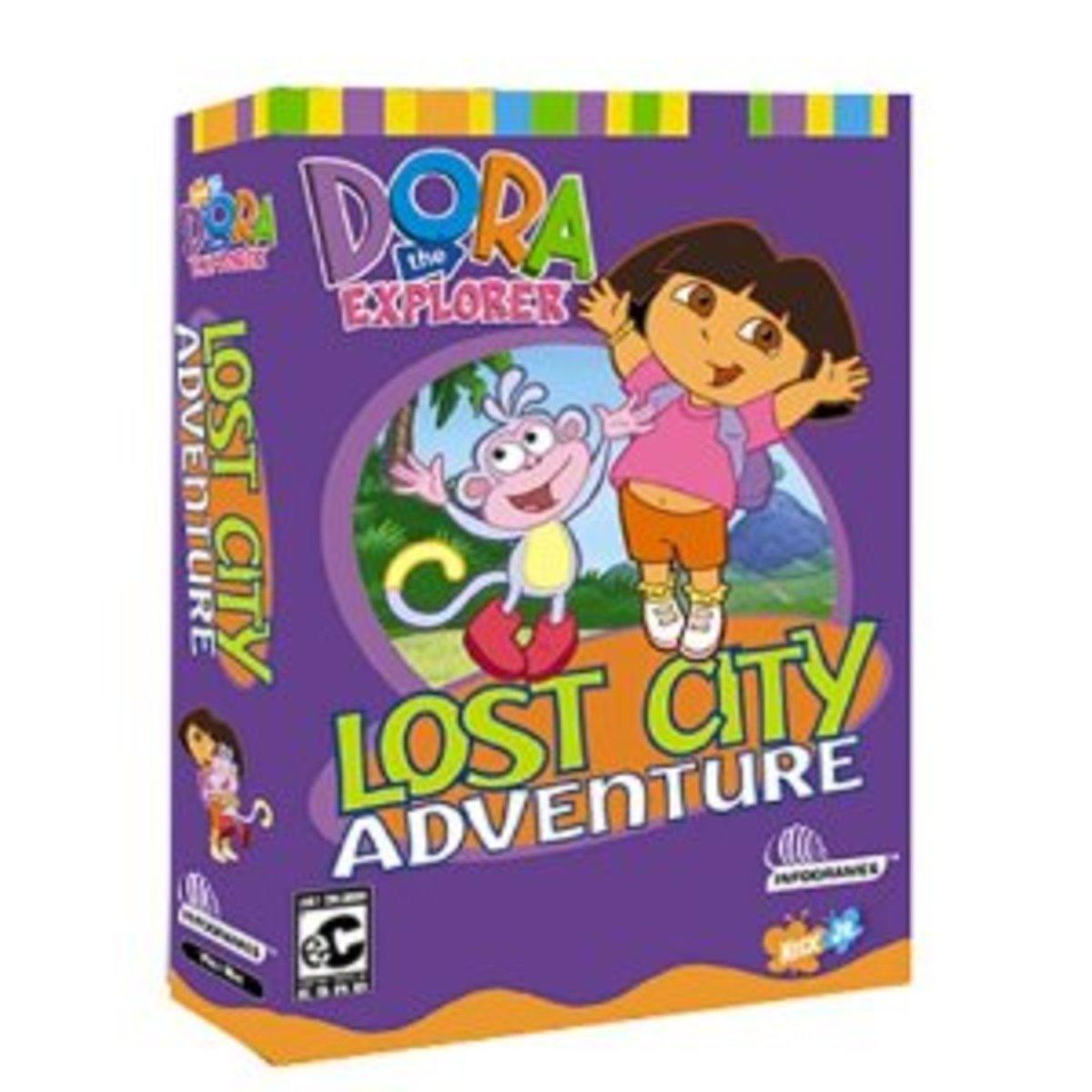 Dora the Explorer: Lost City Adventure game cover
