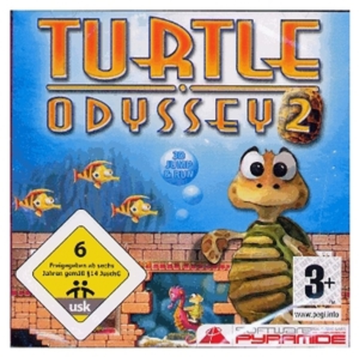 Turtle Odyssey 2 game cover