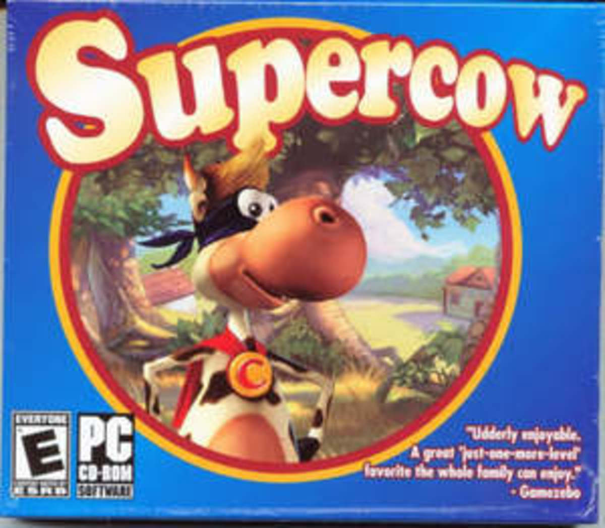 Supercow game box