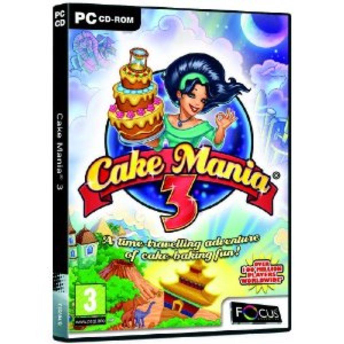 Cake Mania 3 game cover
