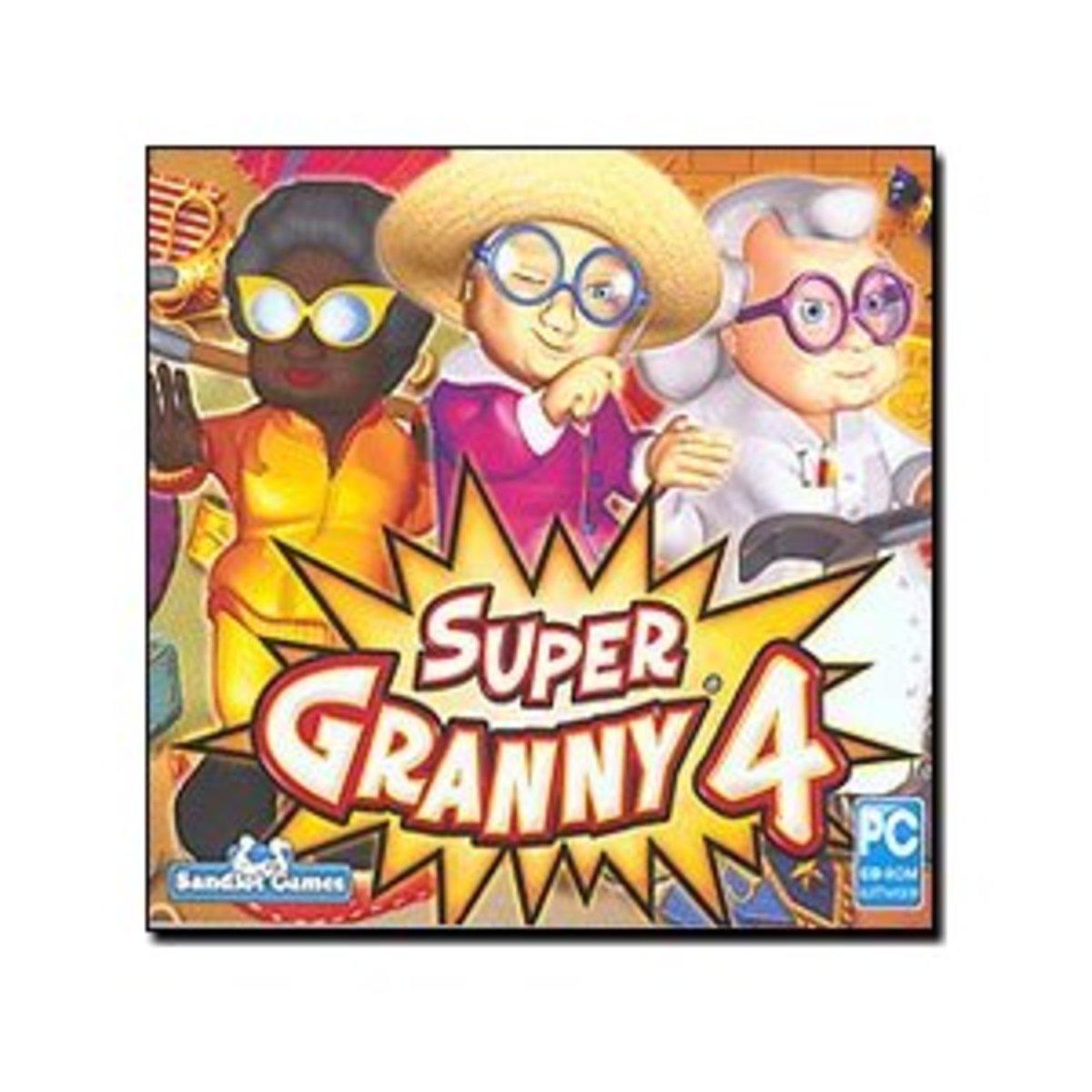 Super Granny 4 game cover
