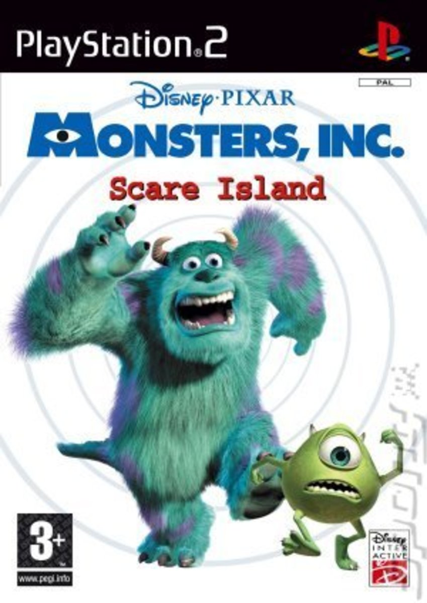 Disney's Monsters Inc.: Scare Island game cover