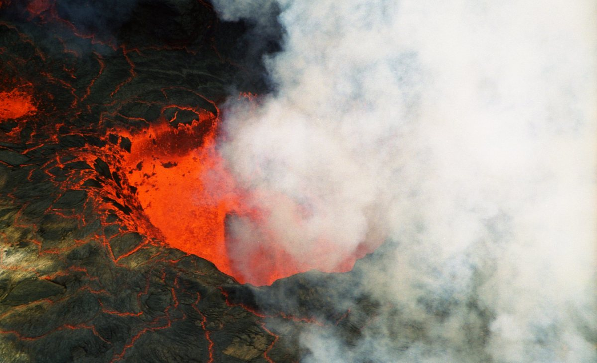 Volcanoes spew out tonnes of material during an eruption, most of it non-metal in nature. These non-metals are great fertilisers, making the areas around volcanoes rich in plant life.