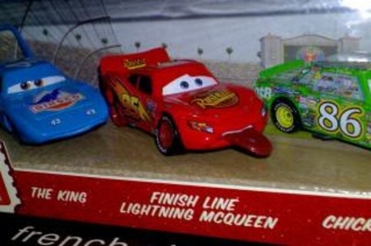 The Different Diecast Versions of Lightning McQueen