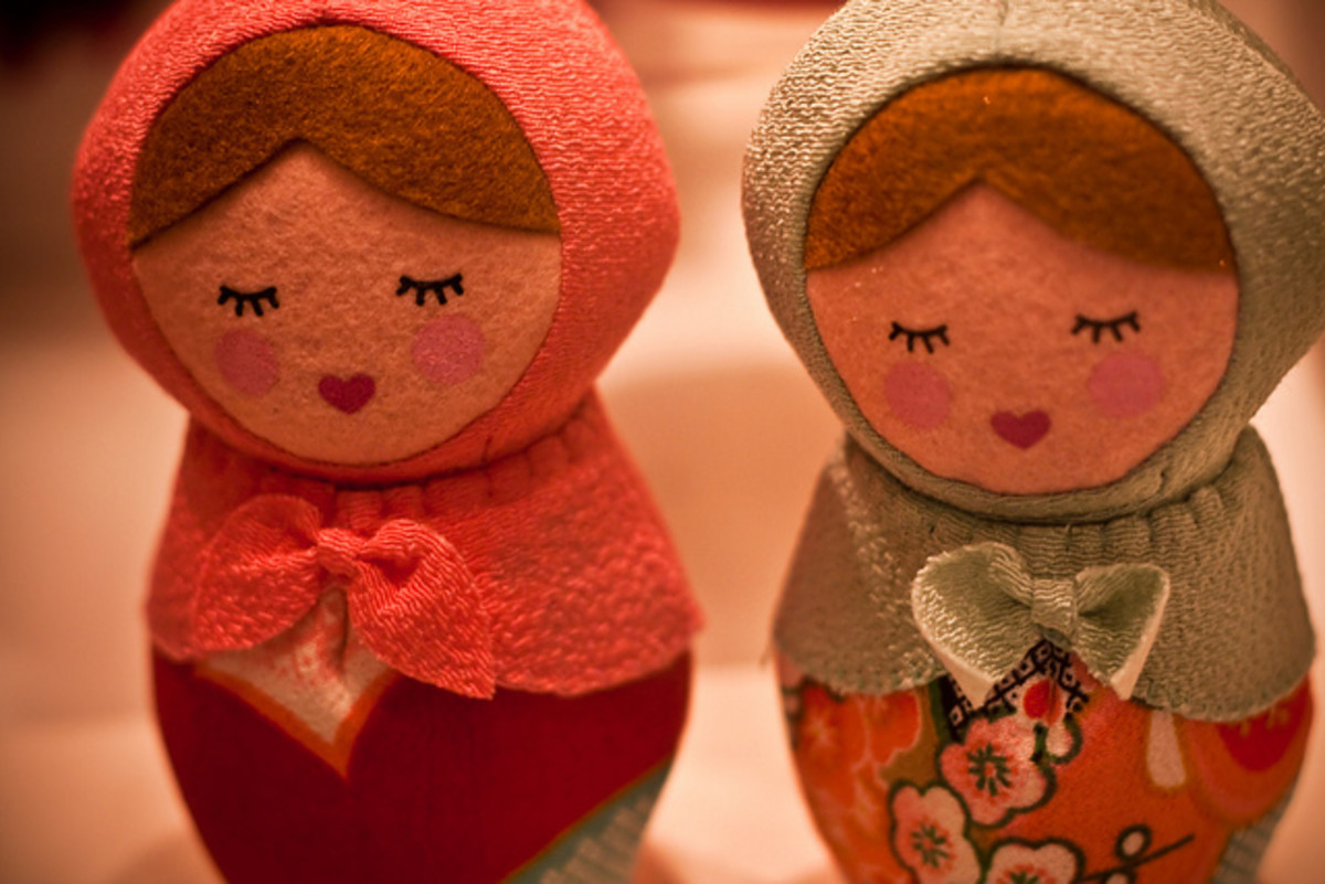 The Giving Doll Charity & Links to Free Cloth Doll Patterns