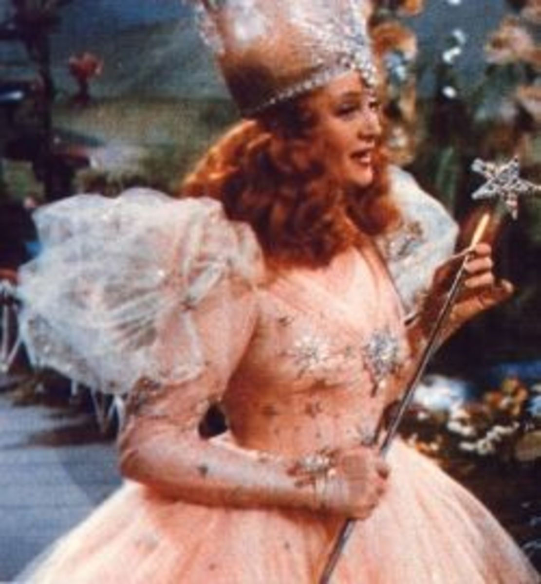Billie Burke as Glinda from The Wizard of Oz
