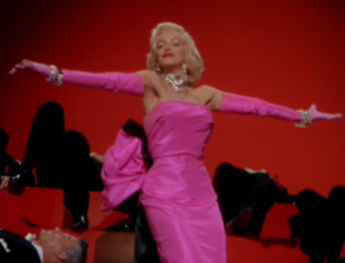 Marilyn Monroe as Lorelei Lee from Gentlemen Prefer Blondes