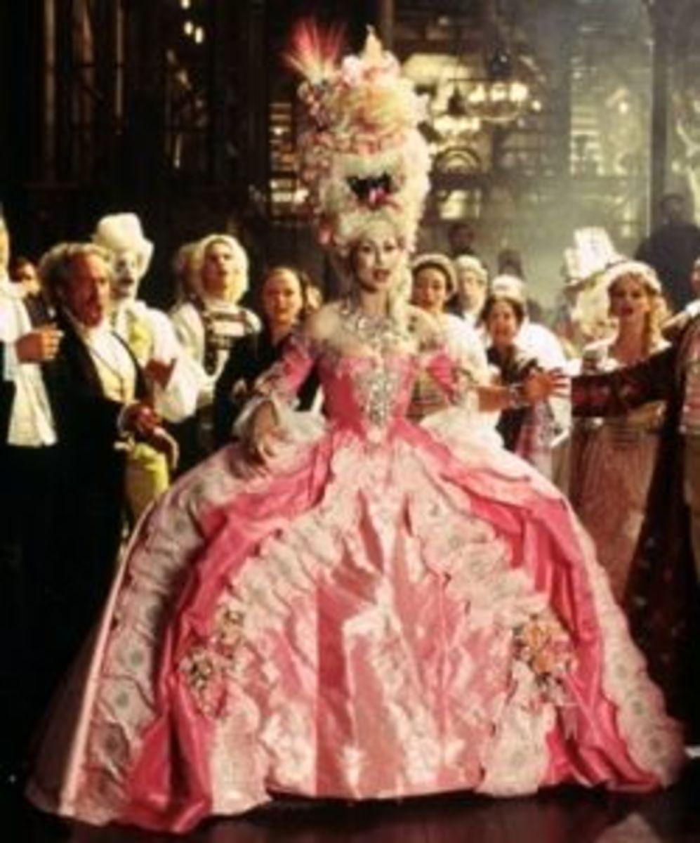 Minnie Driver as Carlotta from The Phantom of the Opera