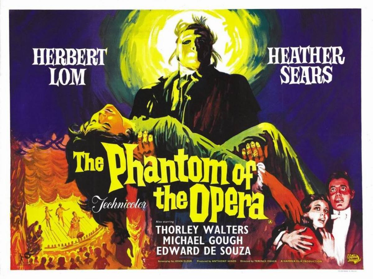 The Phantom of the Opera (1962) poster