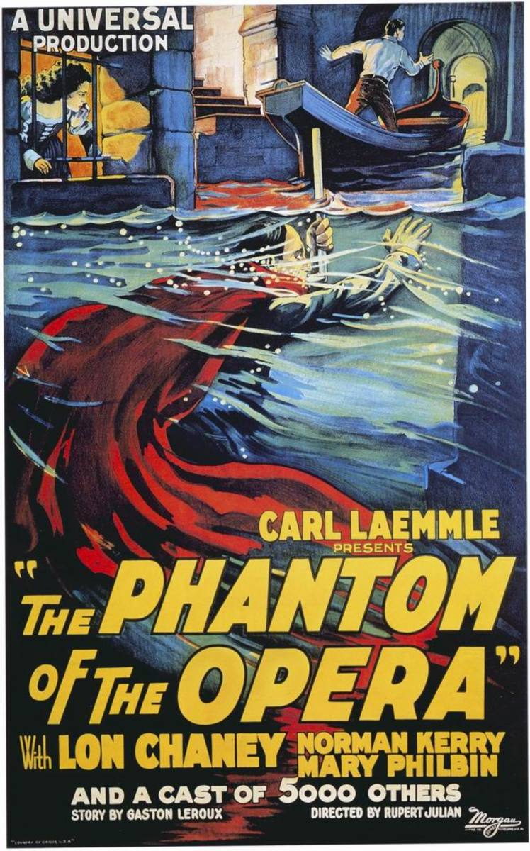 The Phantom of the Opera (1925) poster