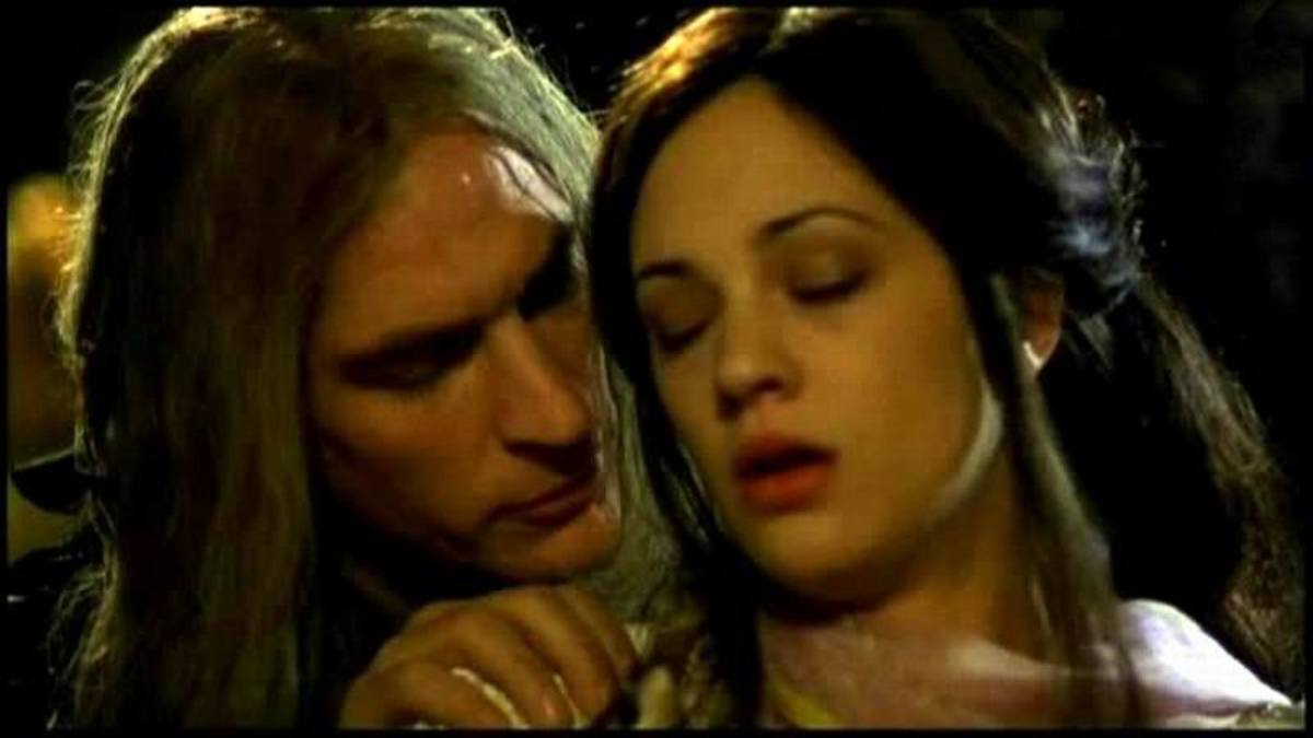 Julian Sands and Asia Argento in The Phantom of the Opera (1998)