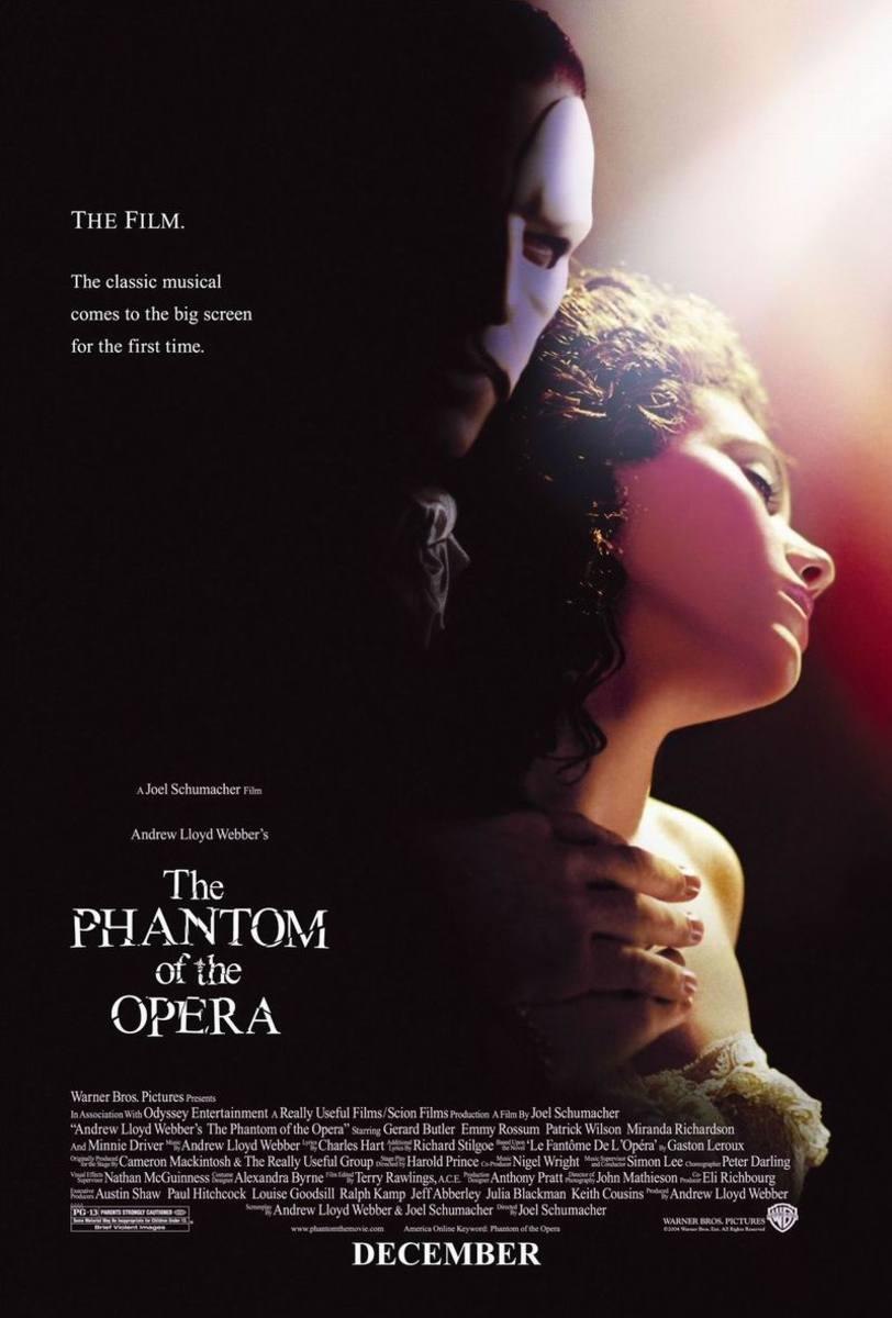 The Phantom of the Opera (2004) poster