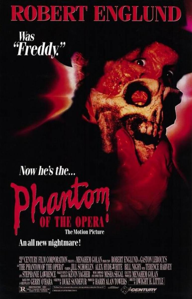Phantom of the Opera (1989) poster