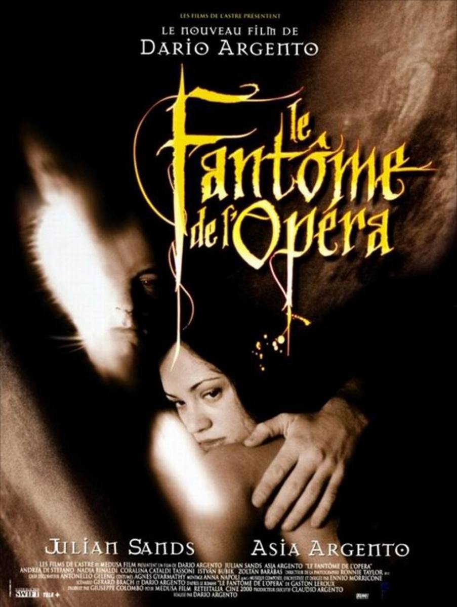 The Phantom of the Opera (1998) poster