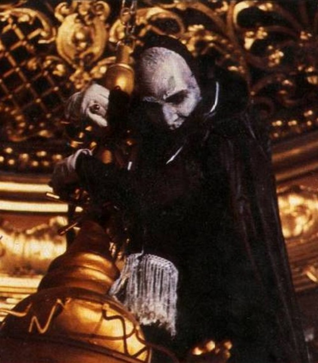 Maximilian Schell in The Phantom of the Opera (1983)