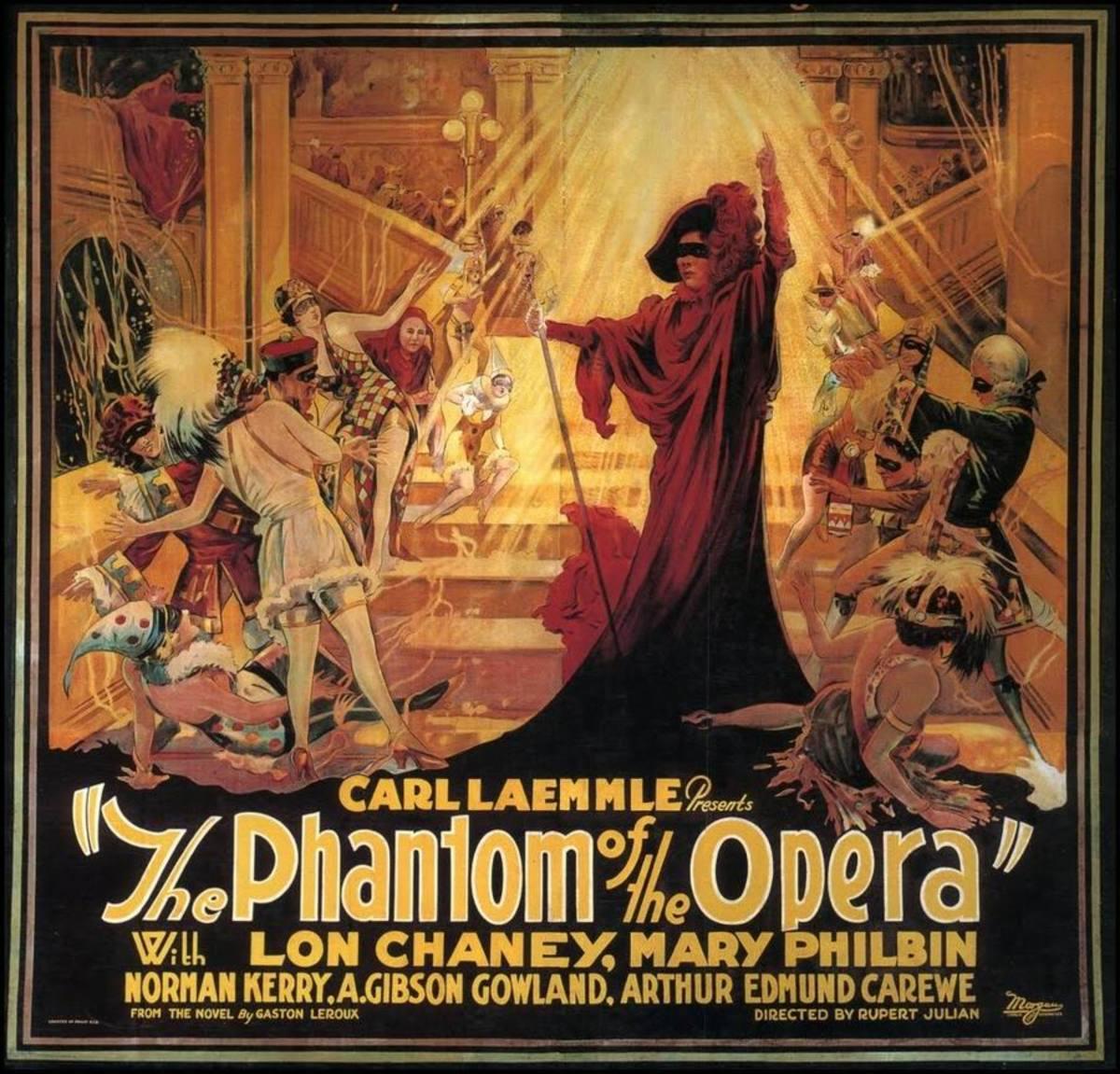 The Phantom of the Opera - on the Screen