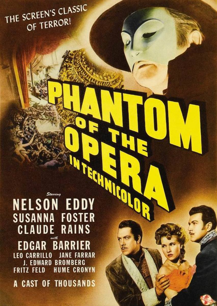 The Phantom of the Opera (1943) poster