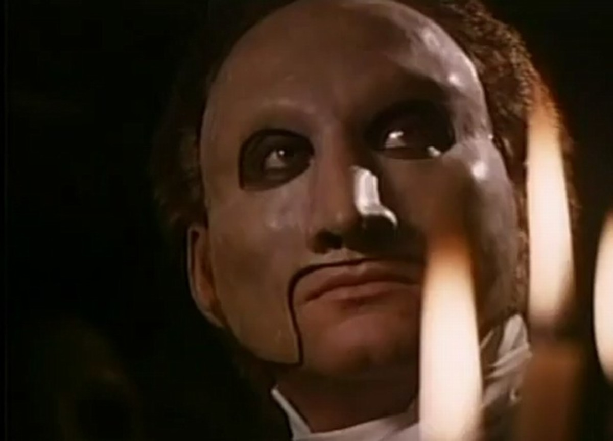 Charles Dance as The Phantom of the Opera (19900