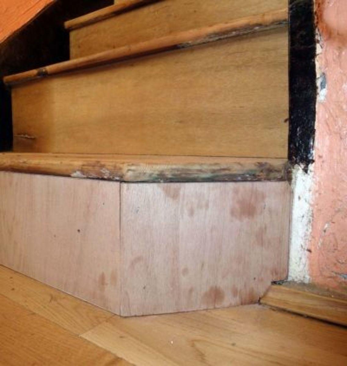 Bottom Step Riser Faced