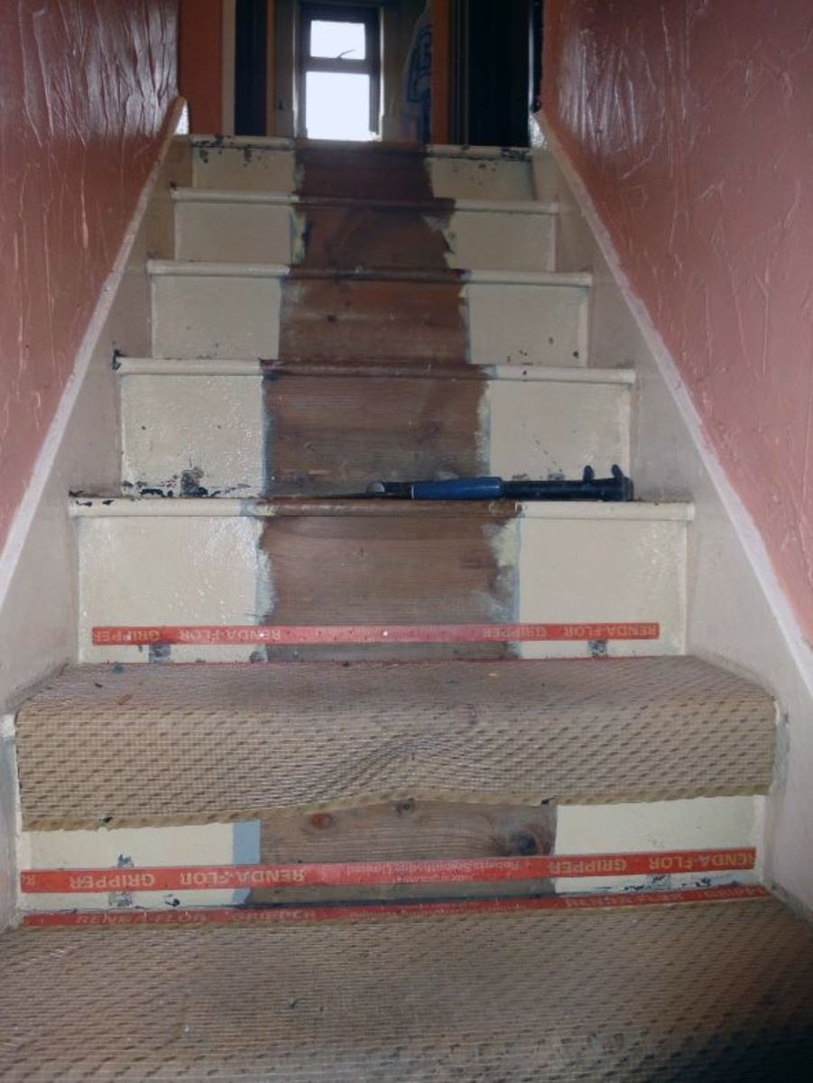 Removing Stair Carpet