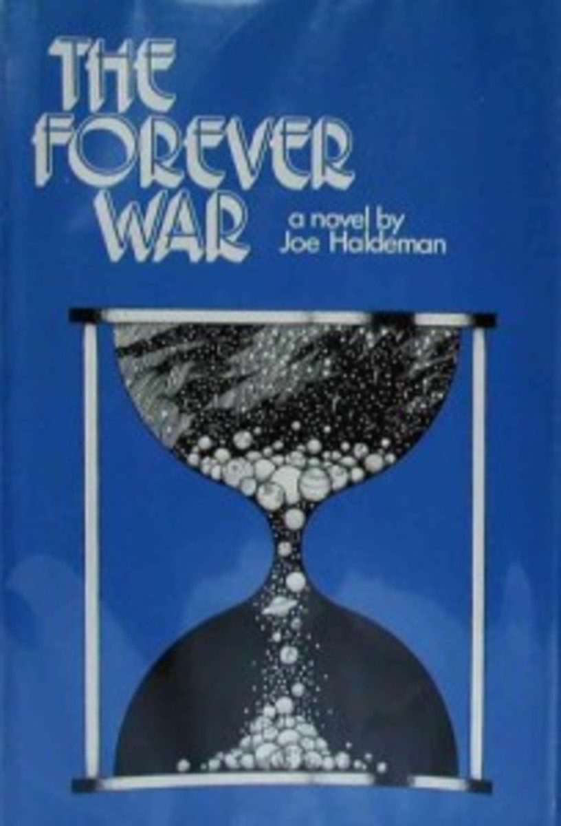 The Forever War by Joe Haldeman, 1974 St. Martin's Press hardcover first edition