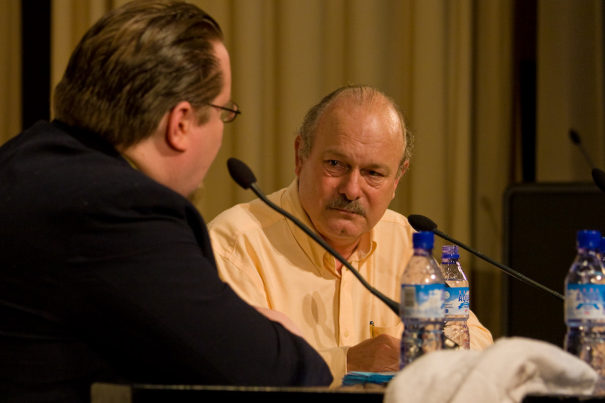 Joe Haldeman at Finncon 2007 in Jyväskylä, Finland - July 2007
