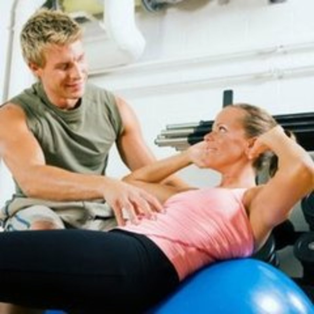 Let a fitness expert assist you.