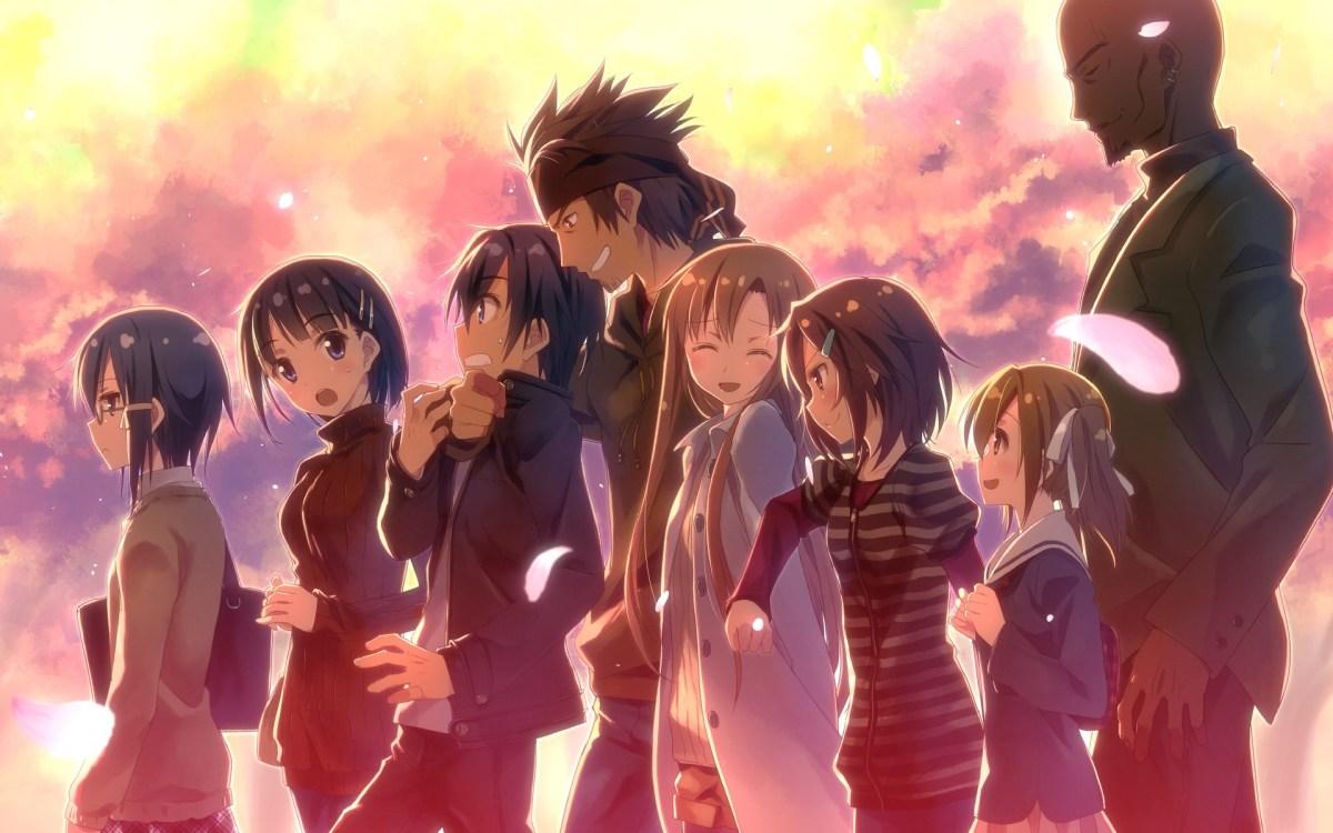 Sword Art Online Main Characters