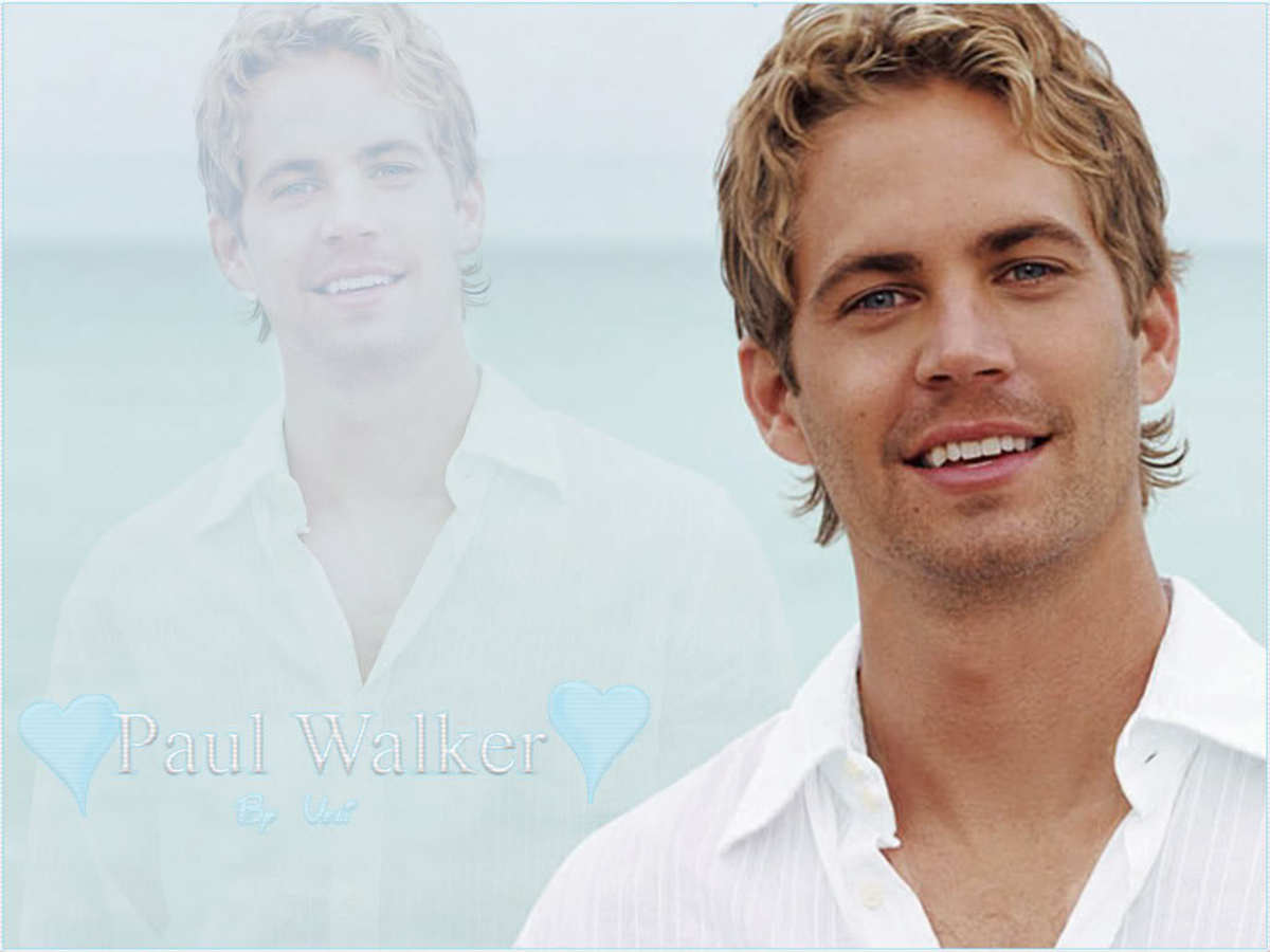 Paul Walker was an actor and producer. He died November 30, 2013. He is missed.