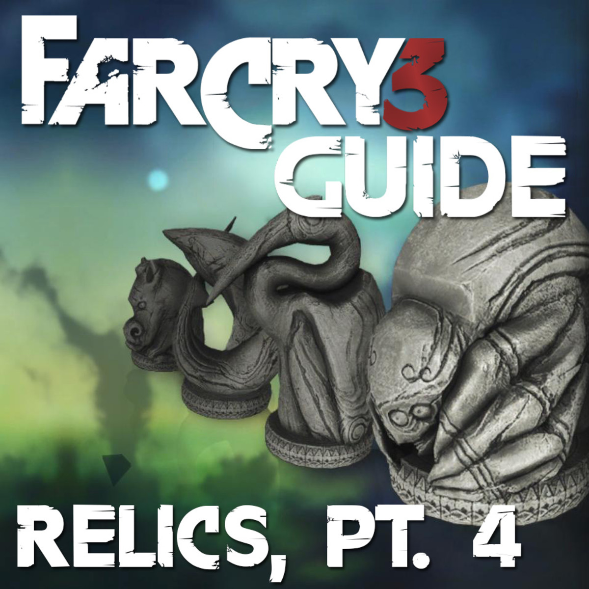 Far Cry 3 Relics Locations Guide - Archaeology 101 - Pt. 4