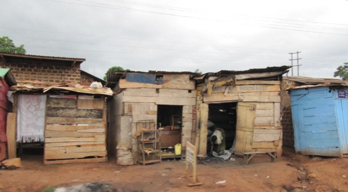 Street scene in Kampala, Uganda