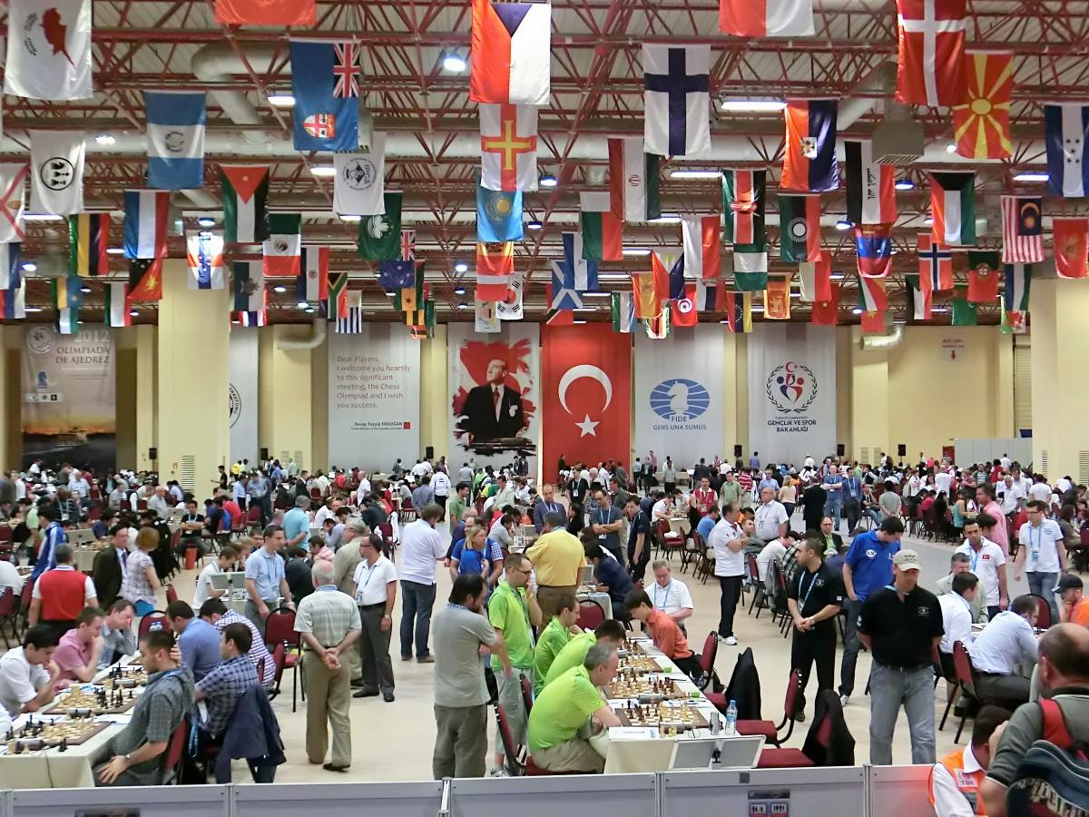 2012 World Chess Olympiad, Turkey