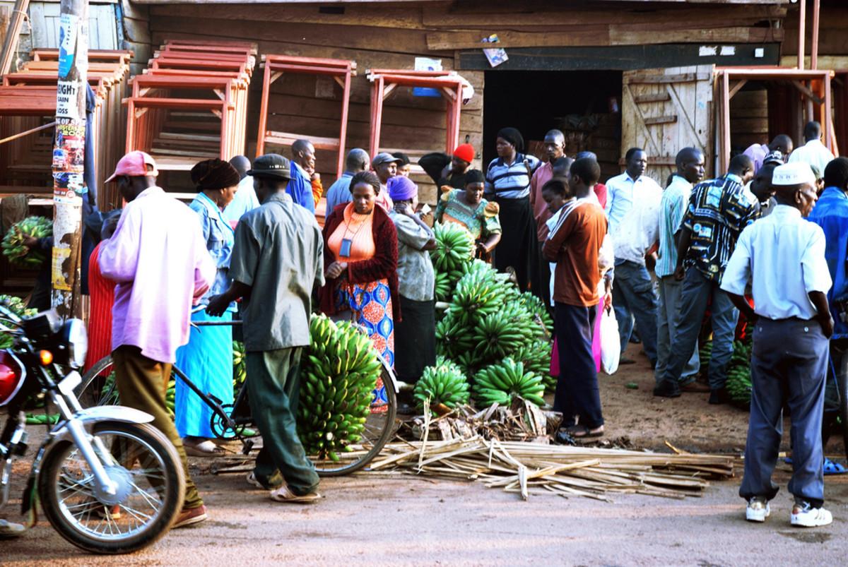 Scene from Kampala, Uganda