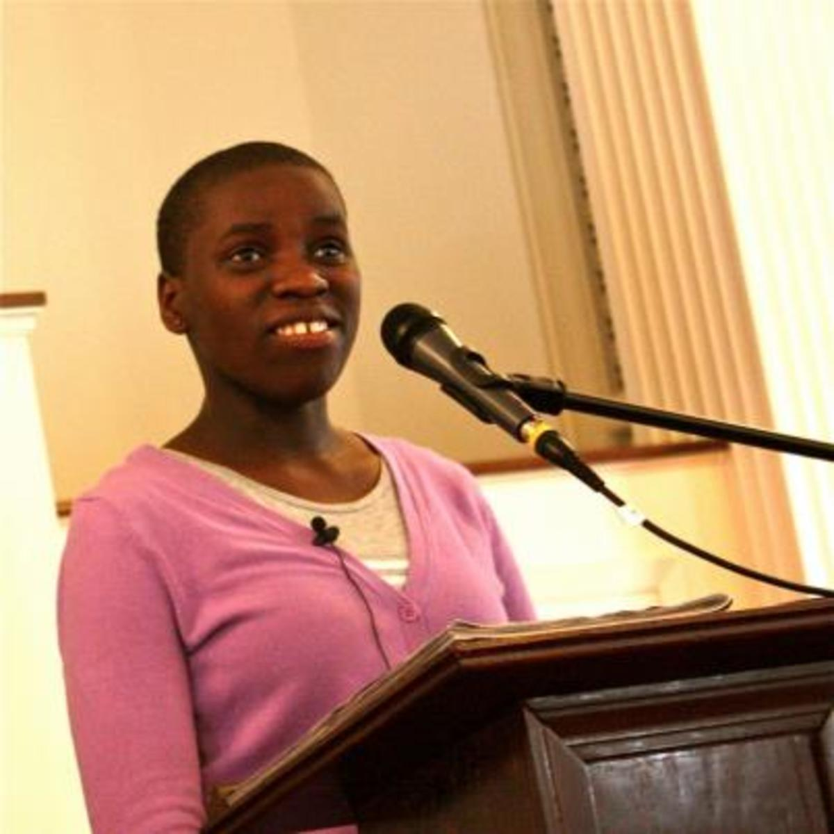 Phiona Mutesi in the United States