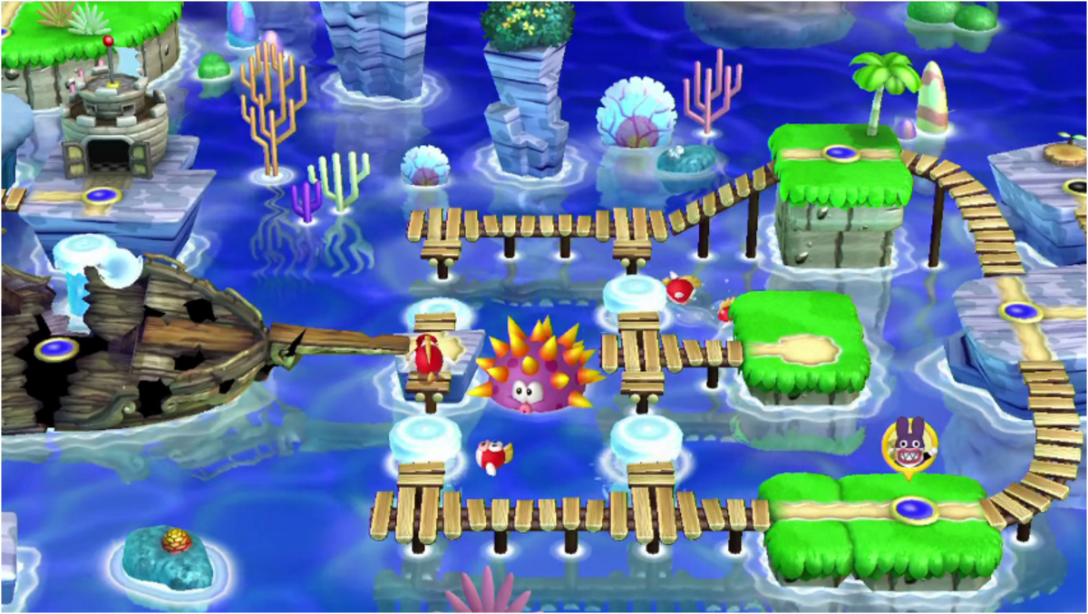 How to find the Star Coins of Sparkling Waters in New Super Mario Bros. U