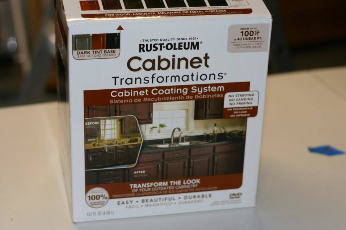 How To Paint Cabinets Using Rustoleum Cabinet