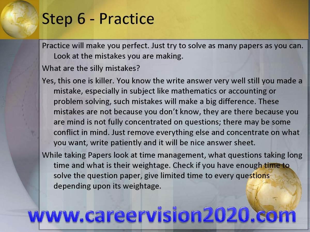 Step 6 - Practice