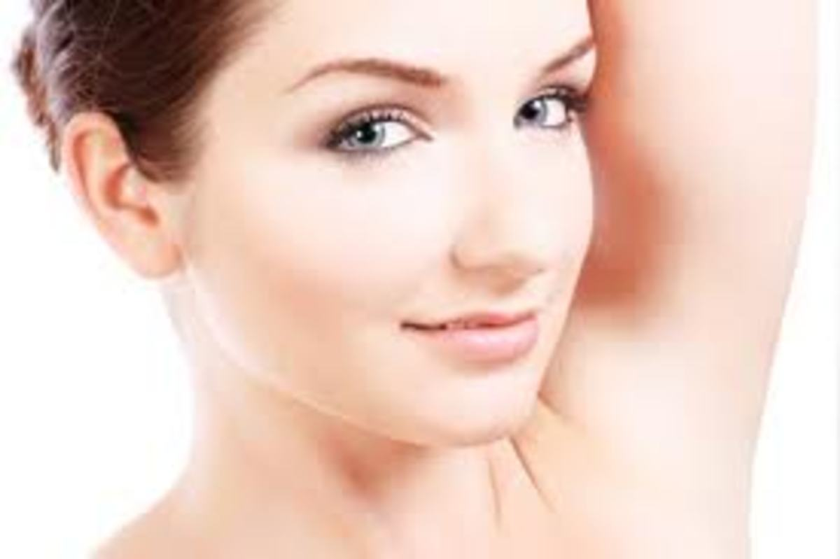 make your underarms light with creams